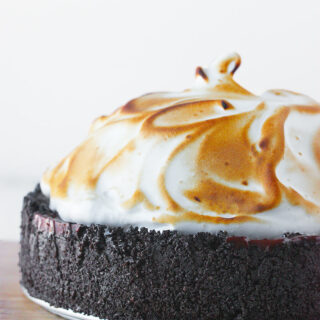 No Bake Chocolate Creme Pie | SoupAddict.com