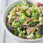 Broccoli Grape Salad Lightened Up | SoupAddict.com