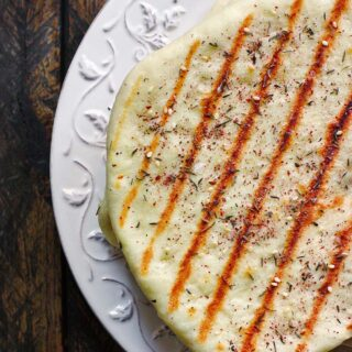 Grilled Flatbread with Za'atar