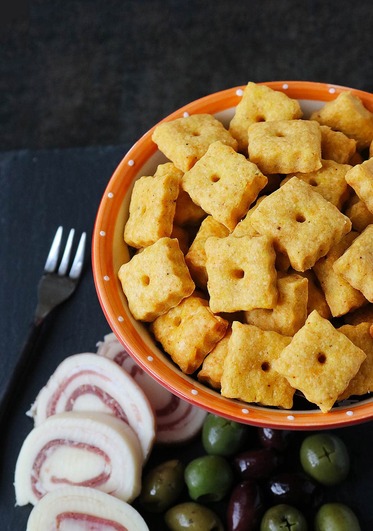 Homemade Cheez-its from SoupAddict.com