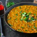 Red Lentil Masala Soup with Barley | SoupAddict.com