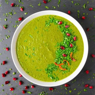 How Green is that Green Soup!