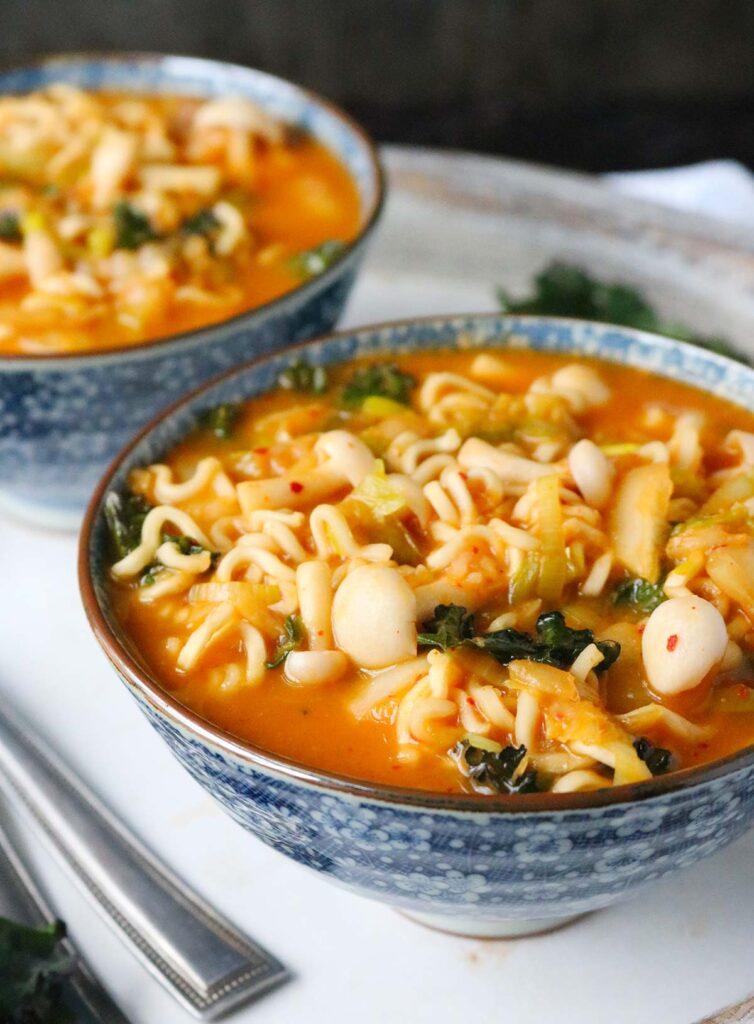 Kimchi Ramen Noodle Soup Soupaddict Com