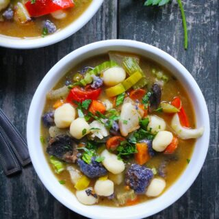 Sheet Pan Roasted Vegetable Soup with Gnocchi