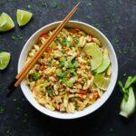 Thai Pasta with Chicken | Recipe at SoupAddict.com