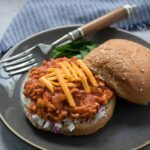 Turkey Sloppy Joes - a super easy, all-season weeknight meal that's healthy and tasty, too! Recipe at SoupAddict.com.