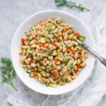 Herbed White Bean Picnic Salad. Recipe at SoupAddict.com