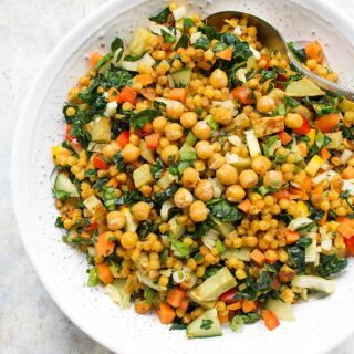 Fall Israeli Couscous Salad