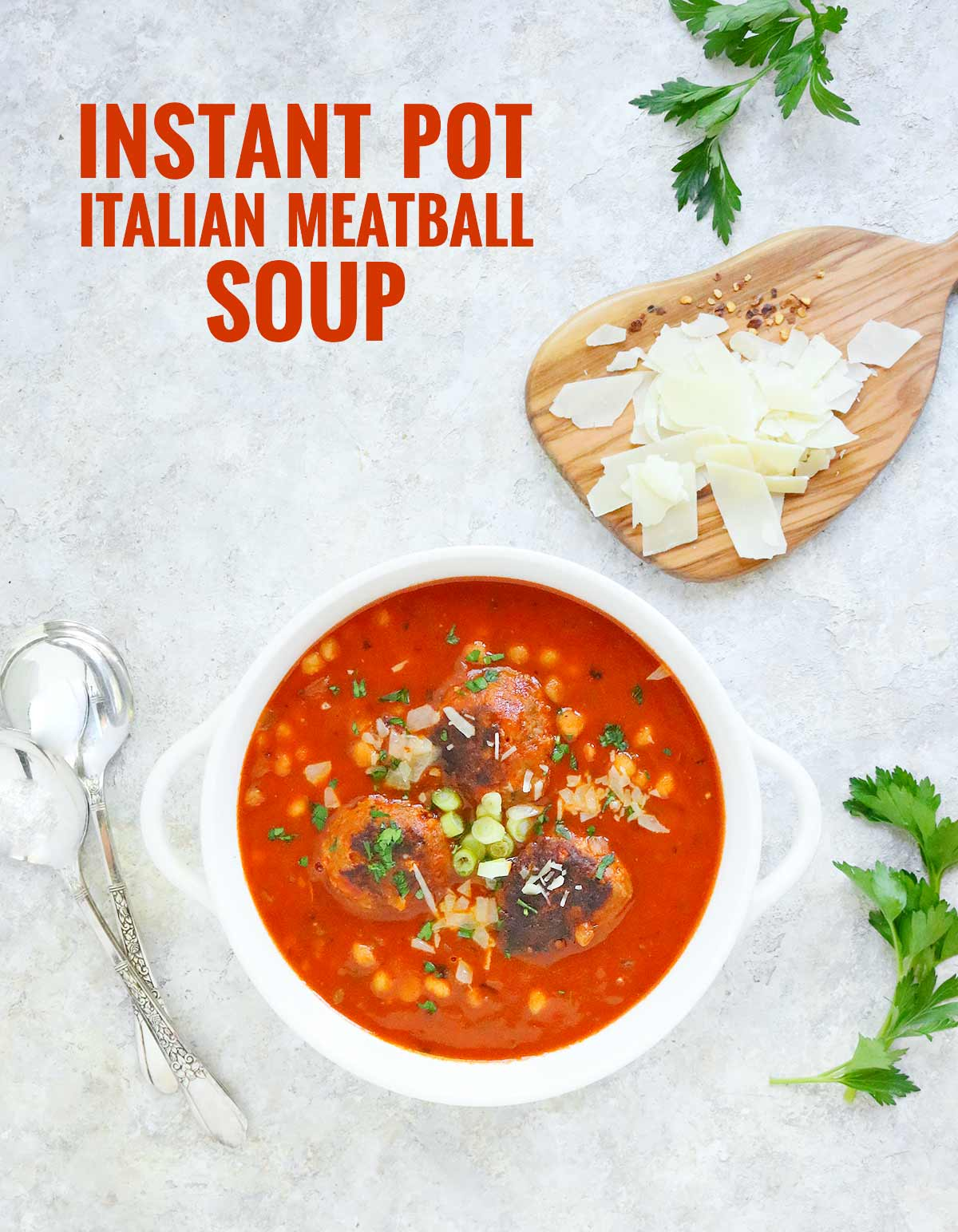 Instant Pot Italian Meatball Soup | Recipe at SoupAddict.com