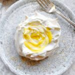 Mini Pavlovas with Tangerine Curd