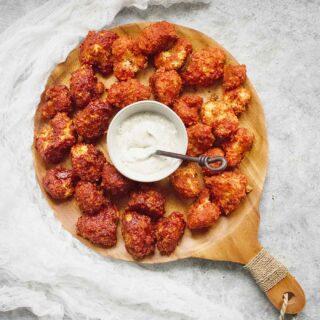 Sweet & Spicy Cauliflower Bites - Two Ways | Recipe at SoupAddict.com