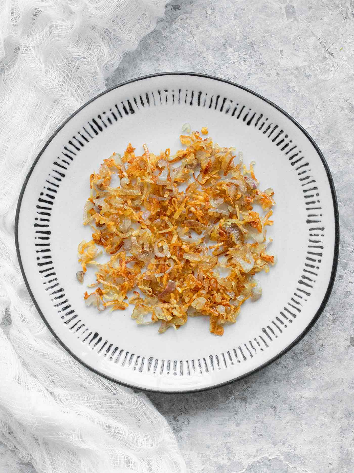 Frizzled shallots - delicious fried shallots