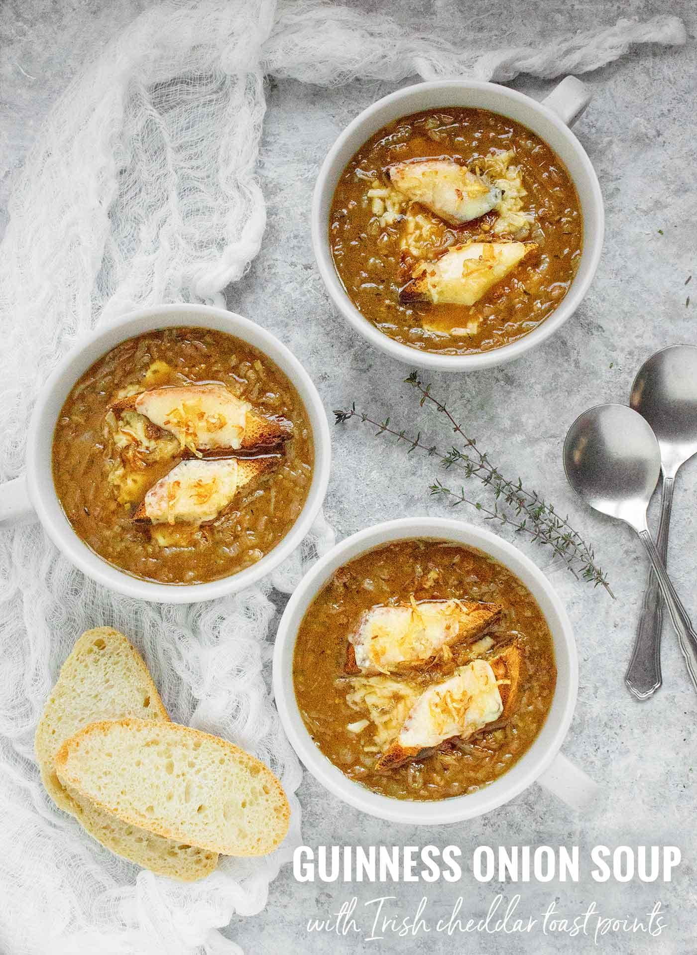 Guinness Onion Soup - Recipe at SoupAddict.com