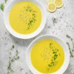 Spring Cauliflower Fennel Soup