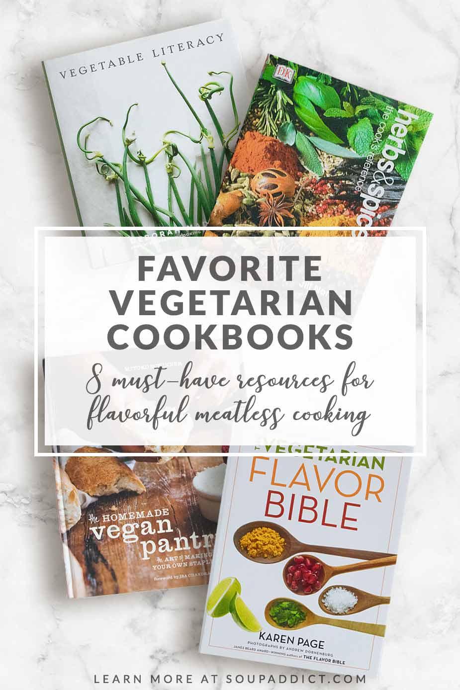 8 Favorite Vegetable Cookbooks