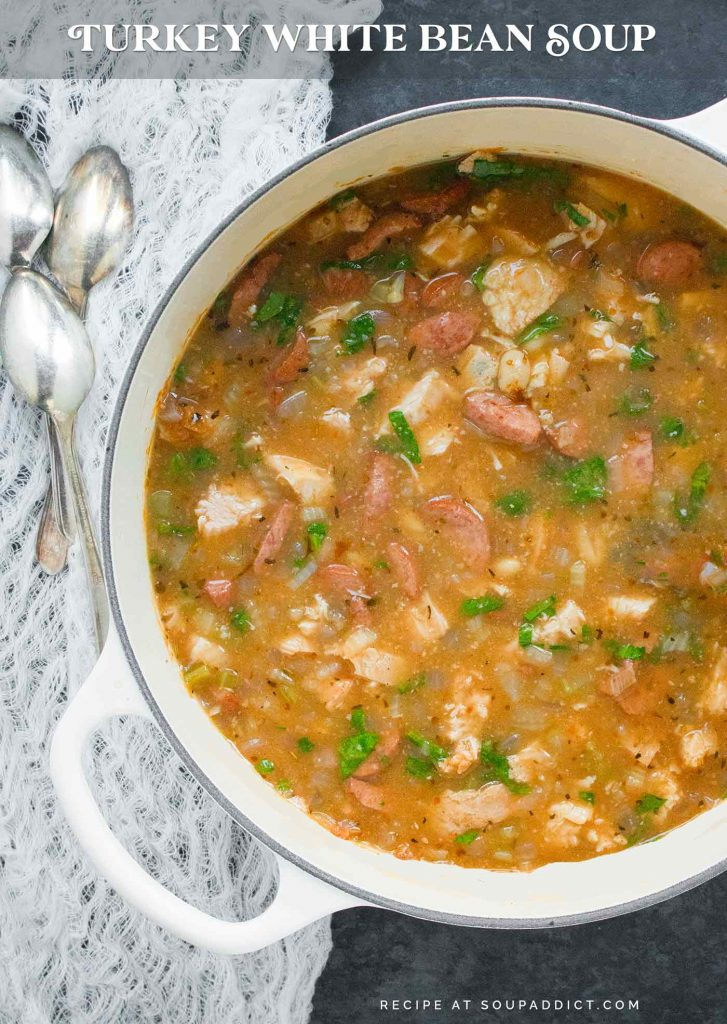 Turkey White Bean Soup